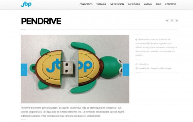 Nueva web JBP